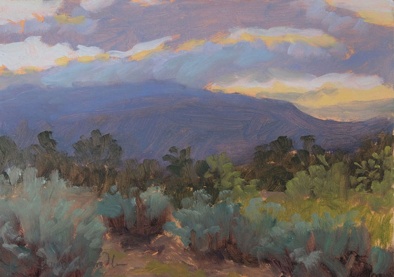 Canvas Santa Fe >> new mexico paintings