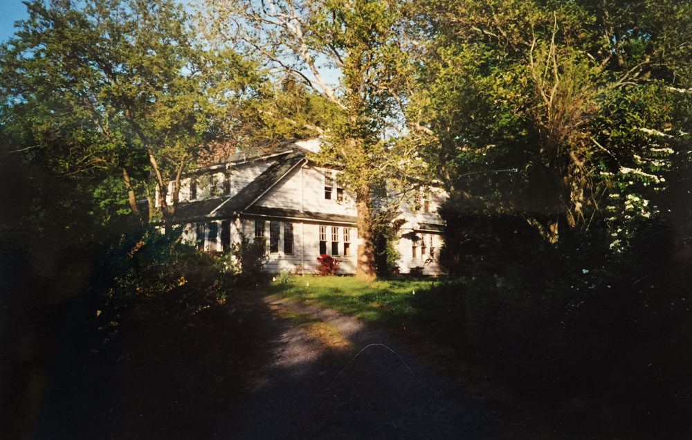 Dawn Chandler's childhood home in central New Jersey.