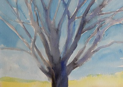 watercolor wander painting 2020 06 by New Mexico artist Dawn Chandler
