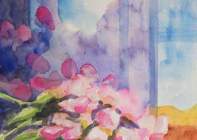 watercolor wander painting 2020 20 by New Mexico artist Dawn Chandler