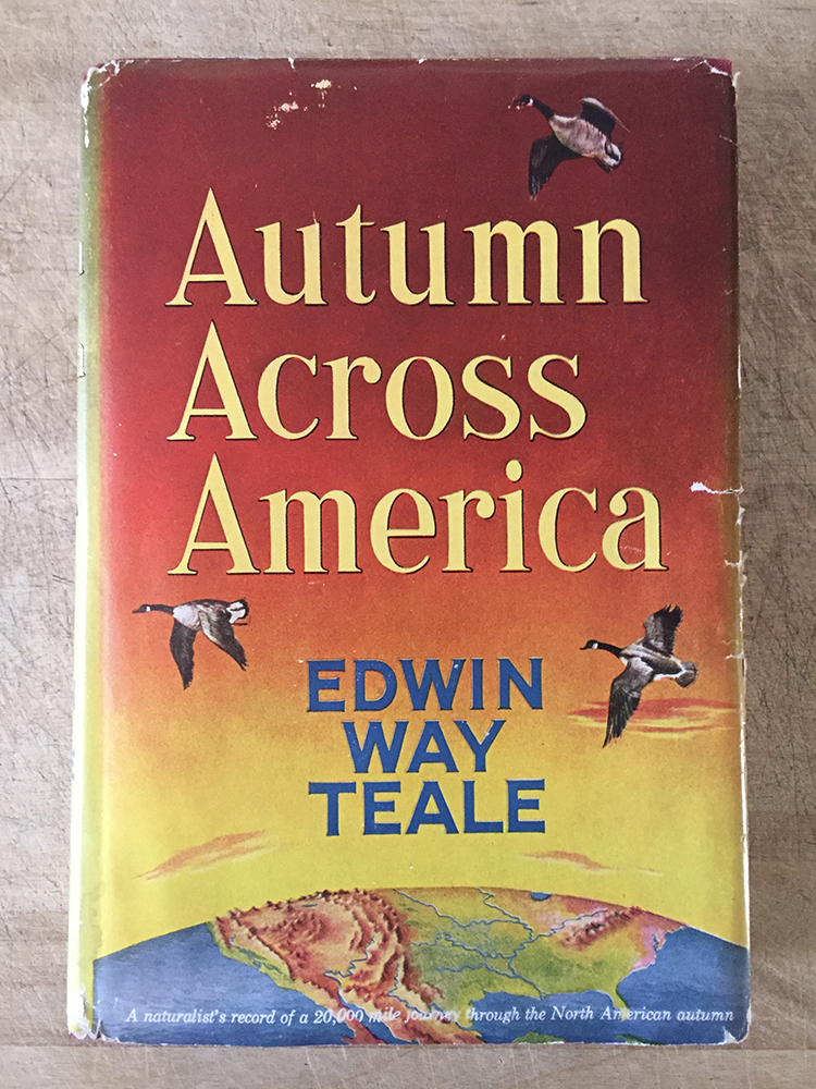 Cover of the 1956 edition of Autumn Across America by Edwin Way Teale.
